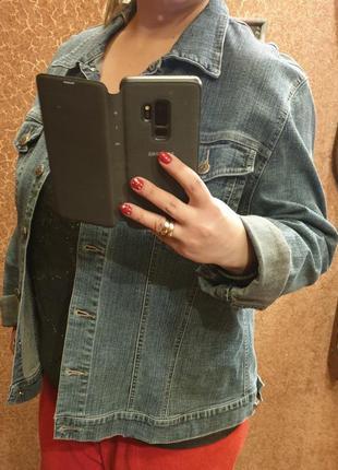 Джинсовая куртка 52-54 размер