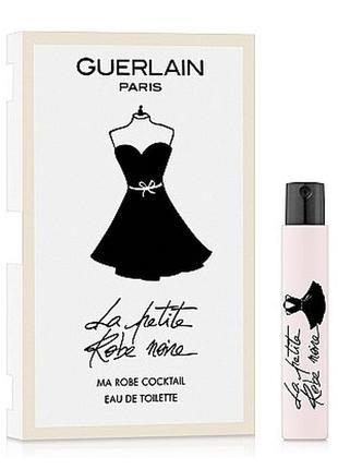 Пробник туалетная вода, парфюм, аромат guerlain la petite robe...
