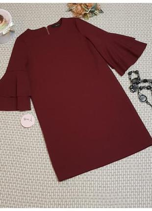 Платье vero moda/пышный рукав