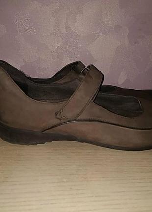 Мокасины 43 р munro кожаные туфли нубук
