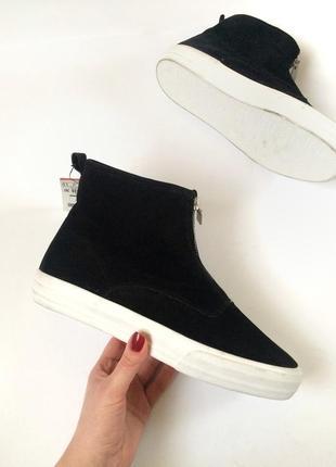 Pull&bear ботинки зимние, утепленные, сапоги, кеды