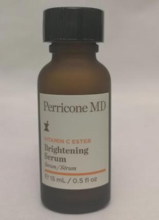 Осветляющая сыворотка для лица perricone md vitamin c ester br...