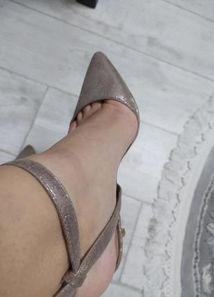 Красивые \блестящие туфельки\ для модницы\new look\р.38💛