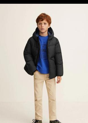 Куртка mango на 7-8 лет