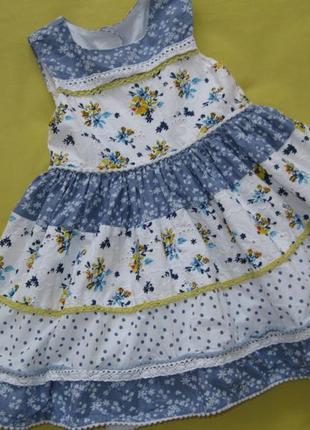 Плаття в квіти/платье в цветы