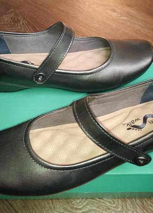 Суперкомфортные  туфли балетки американской фирмы softwalk