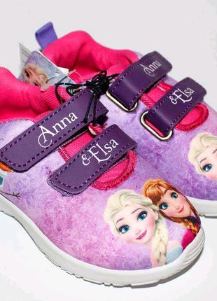 Кроссовки Disney- Анна и Эльза
