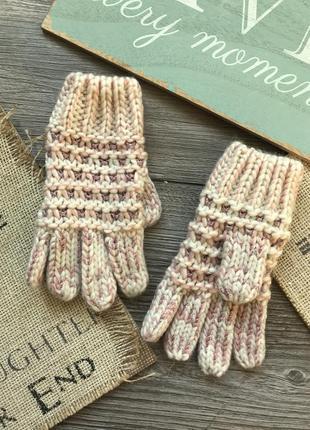 Перчатки вязанные f&f 3-6л