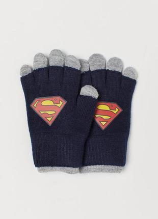 Нові подвійні перчатки h&m розм. 1,5-4 р.