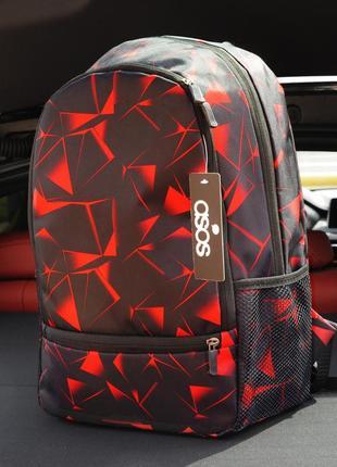 Рюкзак diamond asos red для школы