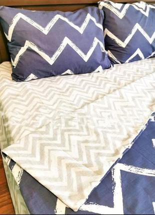 Двухспальный комплект постельного белья из бязь голд 💯 хлопок ...