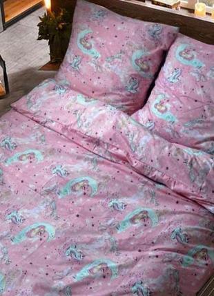 """Детский комплект постельного белья из бязь голд 💯 хлопок""""едино..."""