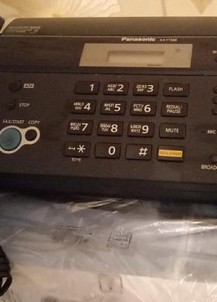Телефон-факс Panasonic KX-FT988