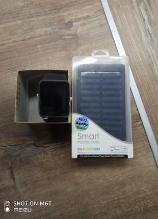 Power bank+smart часы