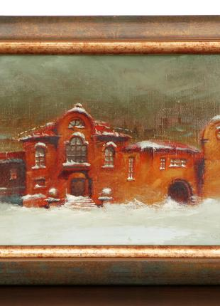 Ковалевский украинский художник картина холст масло живопись