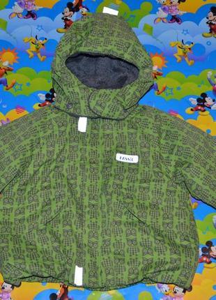 Теплая куртка «lassie» by reima, 74+6 см