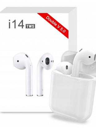 Беспроводные наушники. Беспроводные наушники i14 TWS Bluetooth