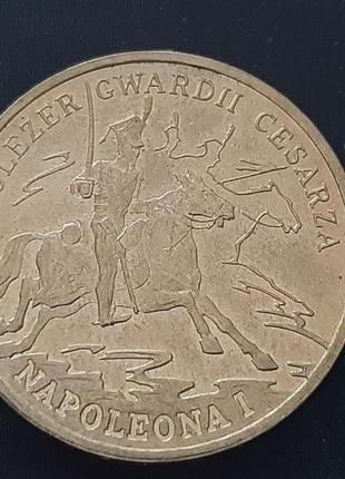 Польша 2 злотых 2010 Кавалерист гвардии Наполеона I