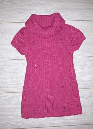 Тёплое платье-туника e-vie angel на 2-3 года