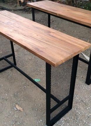 Барные стойки столы для кафе баров ресторанов
