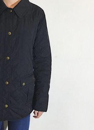 Женская демисезонная стеганая куртка tommy hilfiger