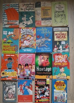 Детские подростковые книги на английском языке.