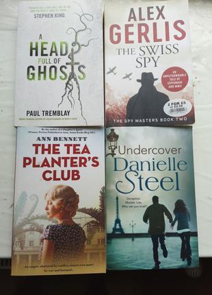 Триллеры детективы романы на английском языке. Книги на англий...