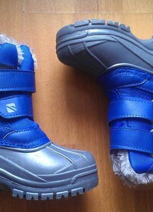 Новые зимние термо ботинки campri
