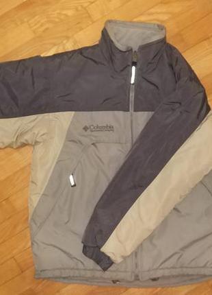 Двухстороння осенняя зимняя куртка columbia, коламбия м размер...