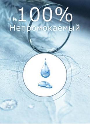 Детская, непромокаемая простынь, наматрасник на резинке. 119/60