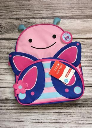 Новый рюкзак skip hop от 3-х лет. оригинал. бабочка. метелик. ...