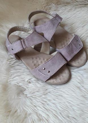 Красивые босоножки на липучках cushion-walk 38 размер