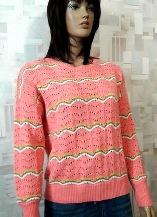 Стильный вязаный оверсайз  джемпер свитер от vero moda