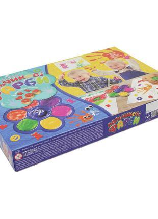 """Краски пальчиковые 7 цветов """"Моя первая творчество"""" DankoToys ..."""