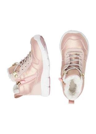 Водоотталкивающие кроссовки ботинки на меху h&m