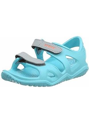 Босоножки сандалии крокс crocs swiftwater river sandal c13-j3