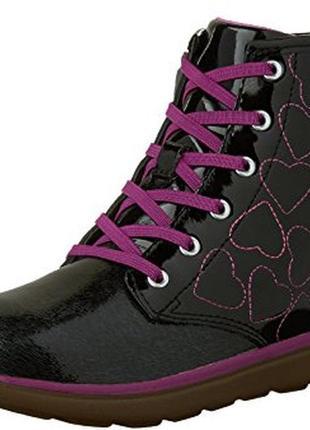 Кожаные демисезонные ботинки stride rite, размер 11,5 us