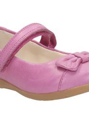Кожаные туфли clarks, размер 5f