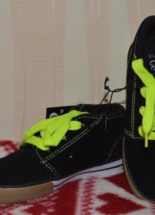 Замшевые кроссовки кеды скейтера george, размер 28