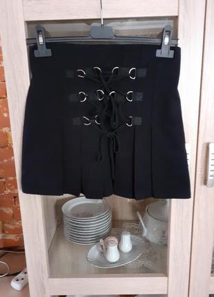 Плотненькая на шнуровке юбка summer rose
