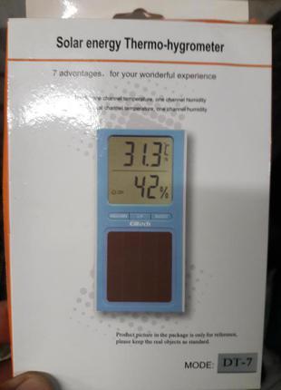 Термогигрометр измерения температуры и влажности