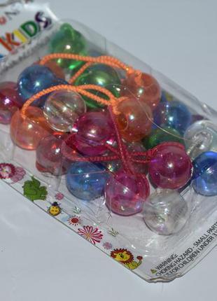 Набор разноцветных резинок donna kids hair accessories elastic...