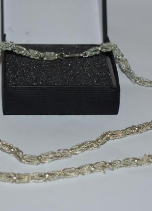 Шикарный набор колье и браслет необычное плетение клейма gs в ...
