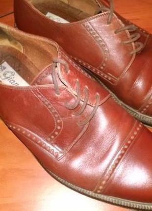 Мужские туфли Vero Cuoio, размер 41, изготовлено в Италии