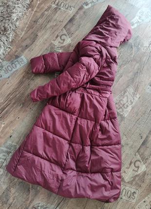 Длинный пуховик/куртка пальто