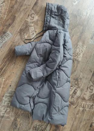 Длинный пуховик/ куртка пальто