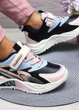 Модные кроссовки девочке , новинка