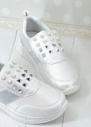 Модные кроссовки-туфли девочке