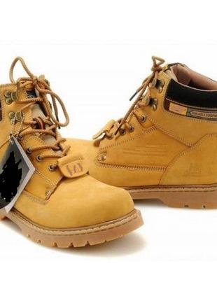 Ботинки деми (тимберленды) everest