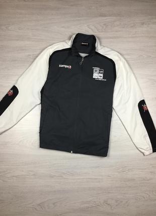 Крутая спортивная куртка кофта гандбольная kempa handball hummel!
